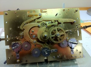 modern grandfather clock movement
